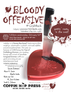 bloody offensive 2018 poster